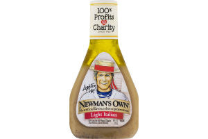 NEWMANS LIGHT ITALIAN DRESSING
