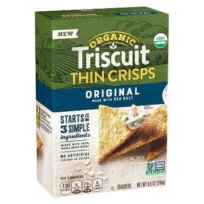 TRISCUIT ORG THIN