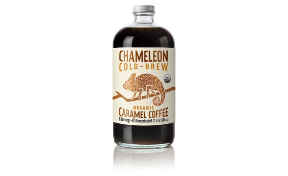 CHAMELEON COLD-BREW ORGANIC COFFEE CONCENTRATED CARAMEL 32 FL OZ