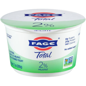 FAGE TOTAL 2% PLAIN GREEK YOGURT