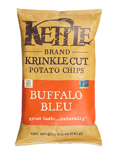 KETTLE BRAND POTATO CHIPS BUFFALO BLEU 8.5 OZ
