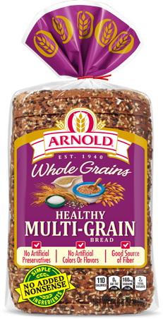 ARNOLD WHOLE GRAINS MULTI-GRAIN BREAD