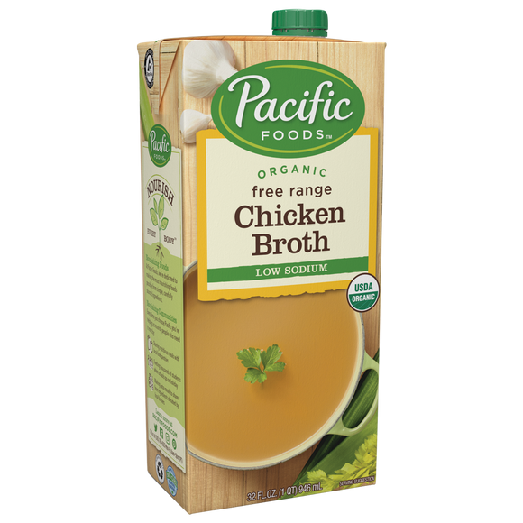 PACIFIC ORG LOW SODIUM CHICKEN BROTH
