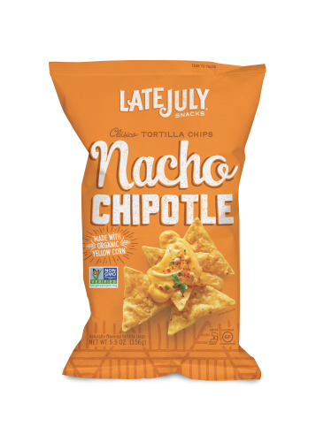 LATE JULY NACHO CHIPOTLE TORTILLA CHIPS