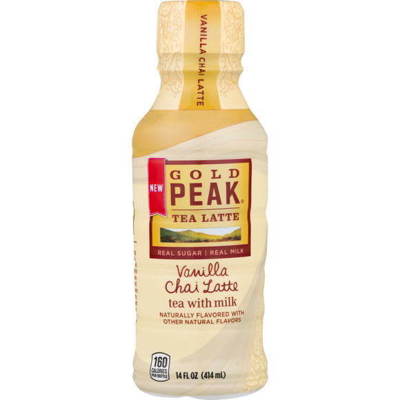 GOLD PEAK VANILLA CHAI TEA LATTE 14 FL OZ