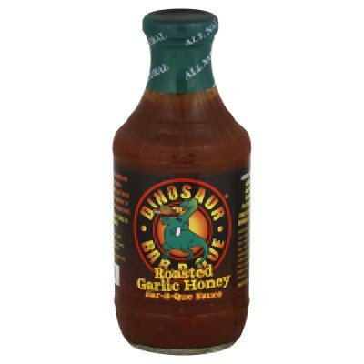 DINOSAUR HONEY ROASTED GARLIC BBQ SAUCE