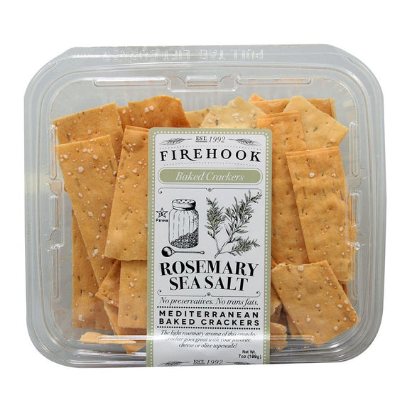 FIREHOOK CRACKERS ROSEMARY SEA SALT