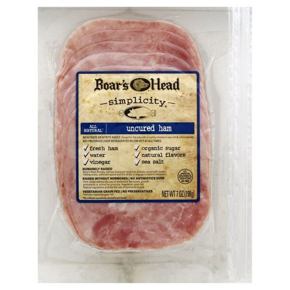BOAR'S HEAD UNCURED HAM