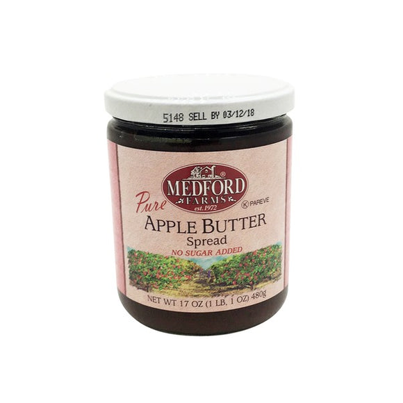 MEDFORD FARMS APPLE BUTTER SPREAD NO SUGAR