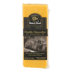 BOAR'S HEAD DOUBLE GLOUCESTER CHEESE