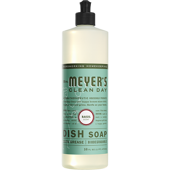 MRS MEYERS DISH SOAP BASIL
