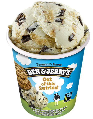 BEN&JERRY OAT OF THIS SWIRLED