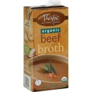 PACIFIC BEEF BROTH 32 OZ