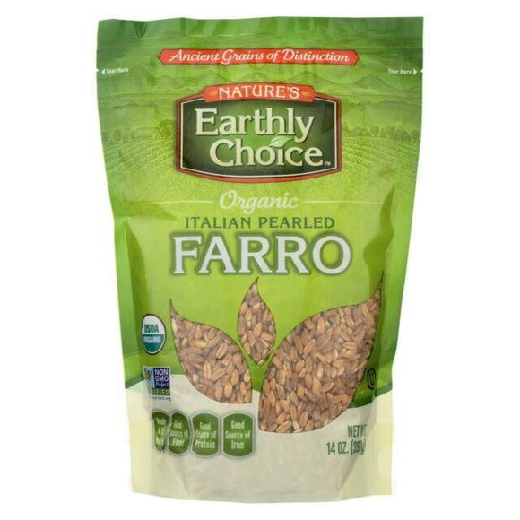 NATURE'S EARTHLY CHOICE ORGANIC FARRO