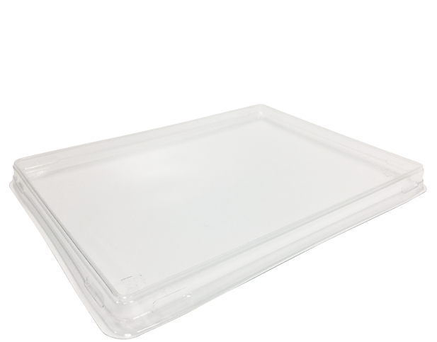 Colpac Tray Large Lid Clear (Carton 500) (Pack 25)