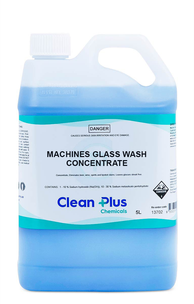 Machine Glass Washing Concentrate 5 Litre