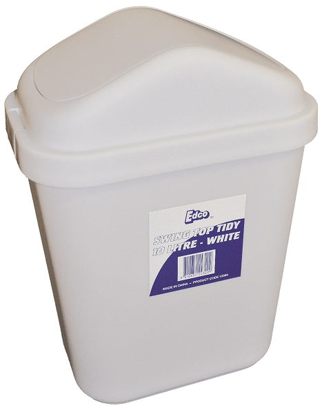 10 Litre Swing Top Bin (4710) Small