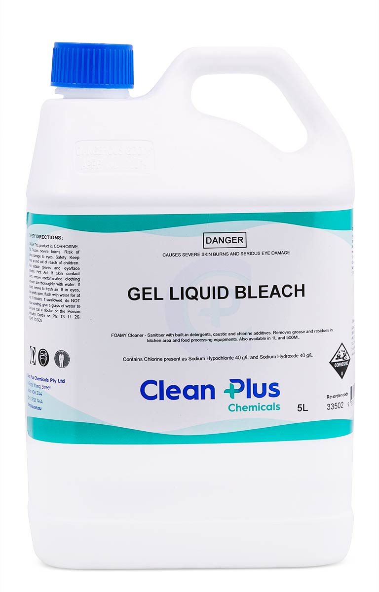 Gel Liquid Bleach 5 Litre