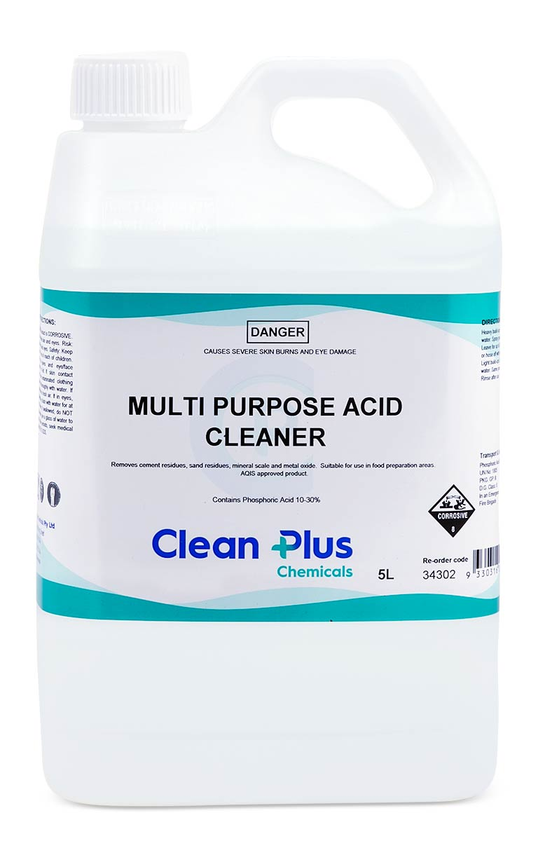 Multi Purpose Acid Clean 20 Litre