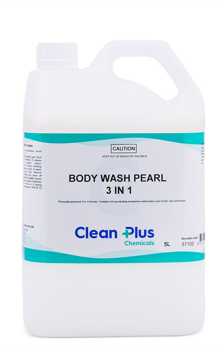 Body Wash Pearl Unscented 5 Litre