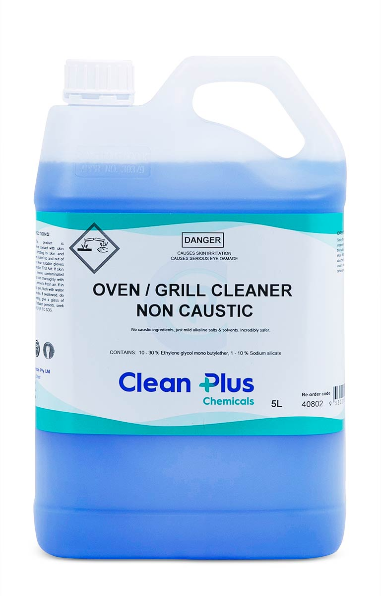 Grill Cleaner Non Caustic Clean Plus 5 Litre