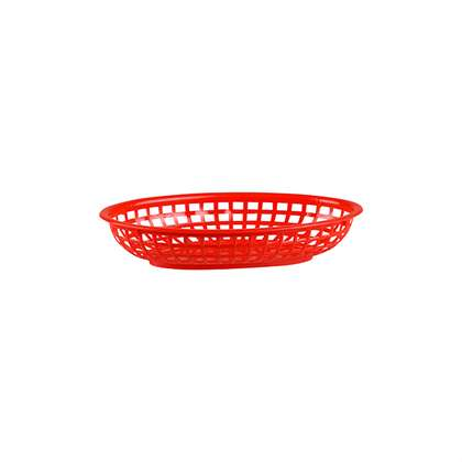 Basket Bread Oval Plastic (240x150x50mm) (Each)