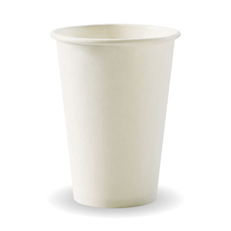 Bio Cup 10oz Single Wall White (Carton 1000)