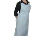 Apron Plastic Disposable Tear Off (700x1150mm) C/A (Pack 100 )