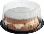 Cake Dome & Base Combo Black (100x200mm) C/A