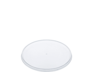 Locksafe Lid Clear Round Large (118mm) (Carton 500) (Sleeve 50)