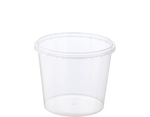 Locksafe Container Round 750ml (Large LID) (Carton 500)