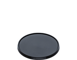 Locksafe Lid Black Round Large (118mm) (Carton 500)