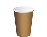 12oz Paper Single Wall Brown Cup C/A (Carton 1000) (Sleeve 50)