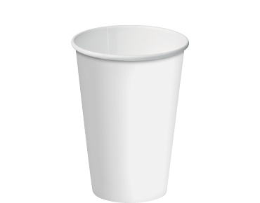 12oz Paper Single Wall White Cup C/A (Carton 1000) (Sleeve 50)