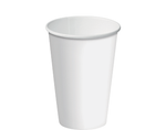12oz Paper Single Wall Black Cup C/A (Carton 1000)