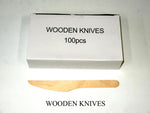 Knife Wooden (Carton 1000) (Box 100)