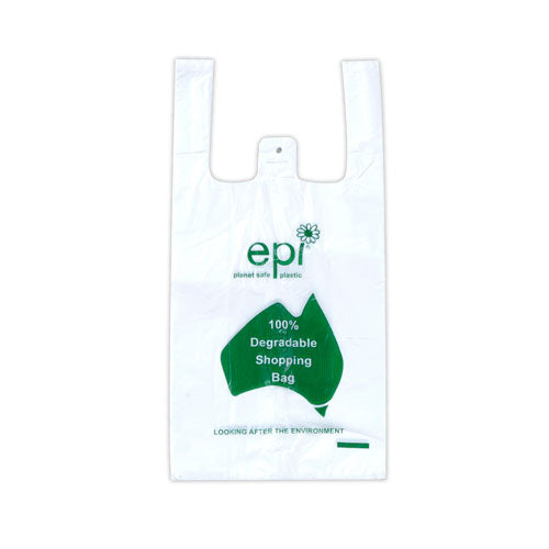 Carry Bag Bio Small (200mm x 410mm) (Carton 5000)