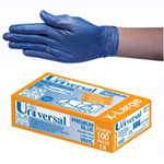 Gloves Vinyl Extra Large Powder Free Blue (Pack 100)