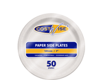 "Paper Plate 7"" (175mm) (Carton 1000) (Pack 50)"