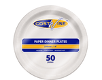 "Paper Plate 9"" (230mm) (Carton 500) (Pack 50)"