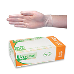 Gloves Vinyl Extra Large Clear (Pack 100)