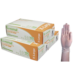 Gloves Vinyl Extra Large Powder Free Clear (Pack 100)