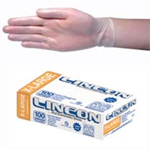 Gloves Vinyl Extra Large Powder Free Clear (Carton 1000)