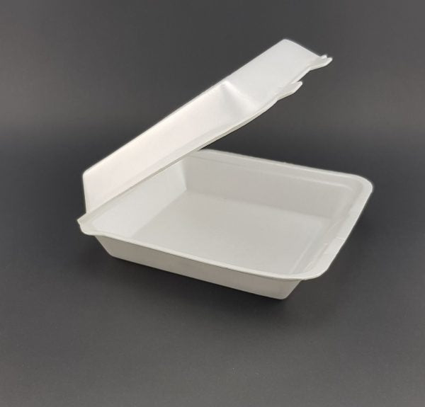 MP17E Foam Container Dinner Clam (210x198x40mm) (Carton 200) (Sleeve 100)