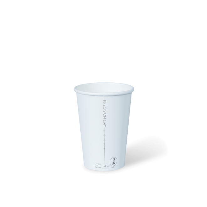 8oz Paper Precision 240ml Cup Detpak (Carton 1000)