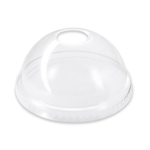 Lid Large Dome (P/Link) Clear 12/15/18/22oz (Carton 1000)