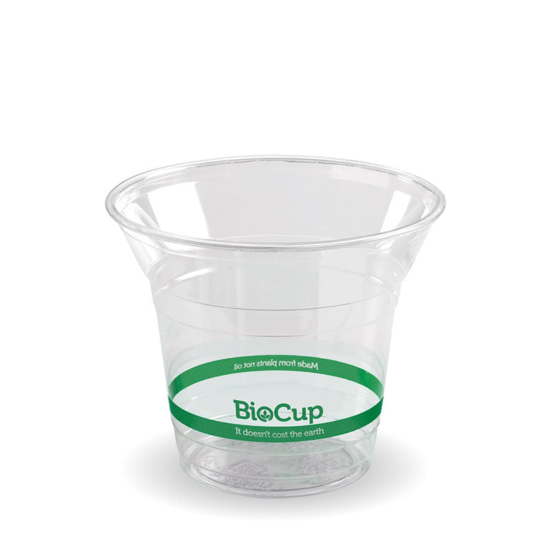 Bio Cup PLA Plastic 300ml Clear (Carton 1000) (Sleeve 50)