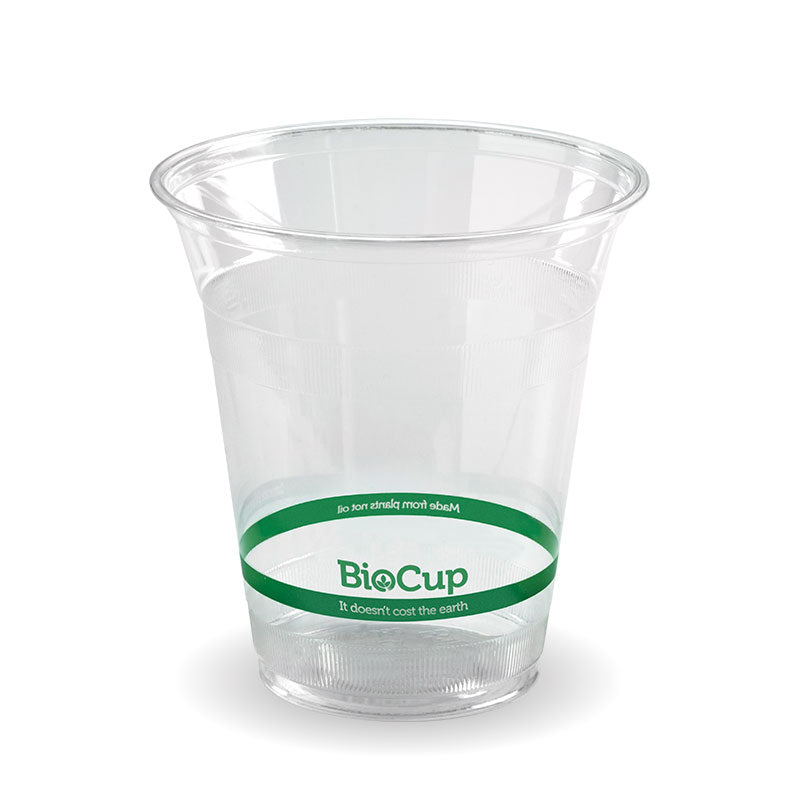Bio Cup PLA Plastic 360ml Clear (Carton 1000) (Sleeve 50)