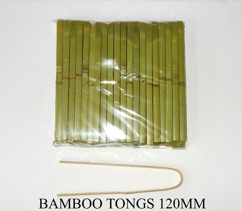 Tongs Bamboo 160mm (40 Pieces)