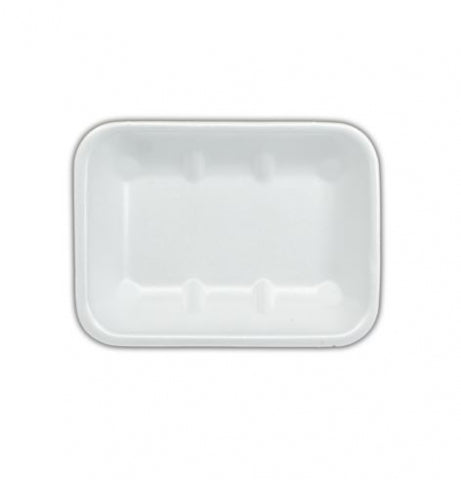 "Foam Tray (7""x5"" x 35mm) White Deep ""Ikon"" (Carton 720) (Sleeve 90)"
